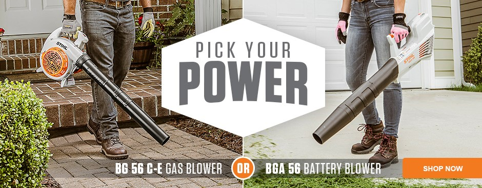 Pick Your Power - Gas or Battery